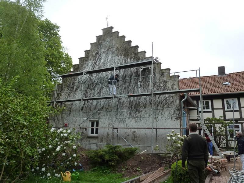 Dammung Fassade Warmedammung Wand Fassade Renovieren