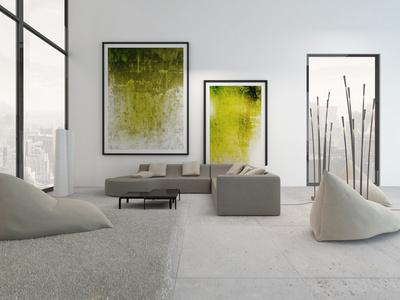 Hervorragend Einzigartige Lichtdurchlässigkeit Im Raum Mit Minimalistischem  Einrichtungsstil